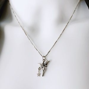 Vintage Tinkerbell Necklace